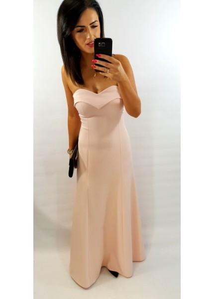 Gorsetowa sukienka maxi