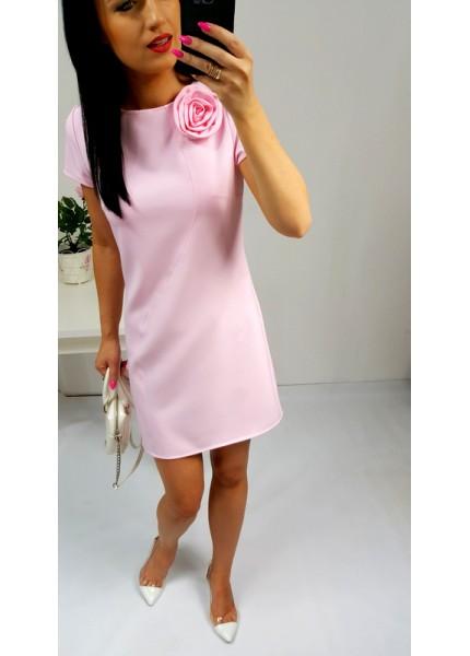 Sukienka z różą