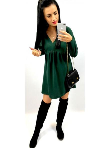 """Luźna sukienka z dekoltem """"v"""""""
