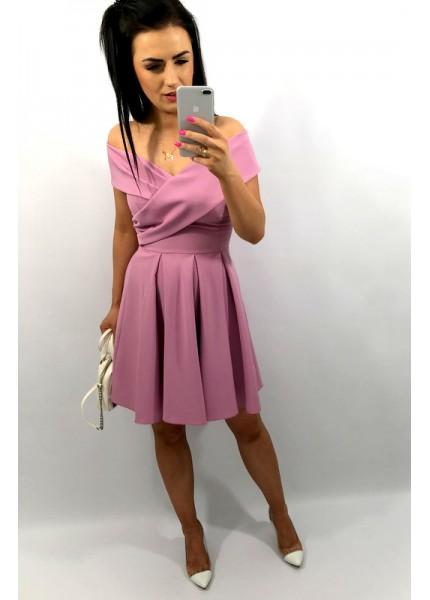 Sukienka odkryte ramiona w wersji MINI