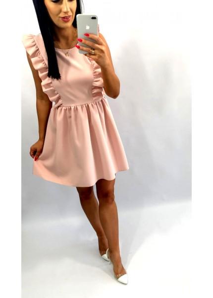 Sukienka ze skrzydełkami