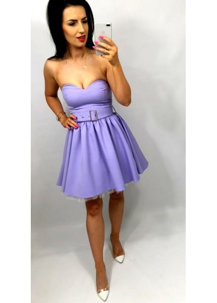 Sukienka gorsetowa w wersji mini